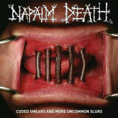 Napalm Death Coded Smears And More Uncommon NEW CD