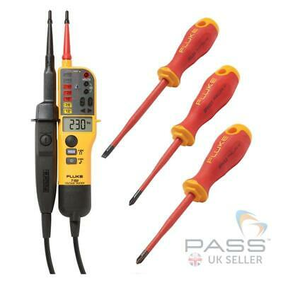 *Exclusive* Fluke T150 Voltage Tester & FREE IPHS1, IPHS2 & ISLS8 Screwdrivers