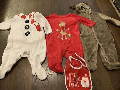 Christmas Bundle 3-6 Months Perfect Condition
