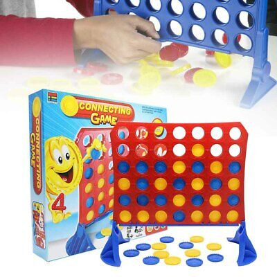 Connect 4 Classic Grid Board Game by HASBRO Family Kids Game UK
