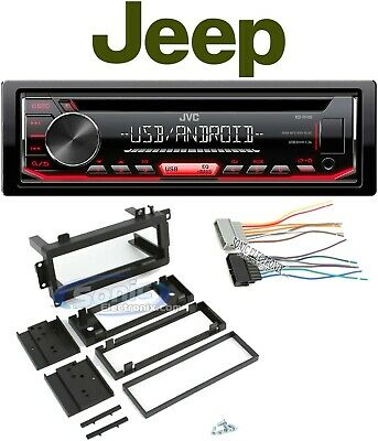 JVC Car Stereo//Receiver//CD Player Factory Replacement For 1997-02 JEEP WRANGLER