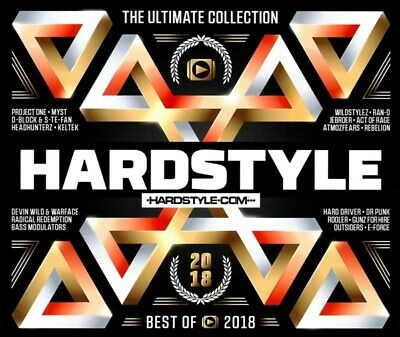 Various - Hardstyle Ultimate Collection-Best Of 2018 CD (3) cloud 9 NEU