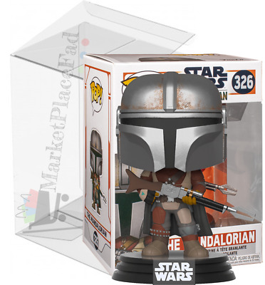 Funko POP! Star Wars (1) #326 The Mandalorian Vinyl Figure W/Protector Included
