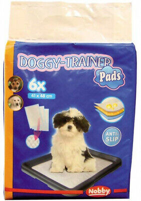 Nobby Doggy Trainer Pads, Small, 6-Piece