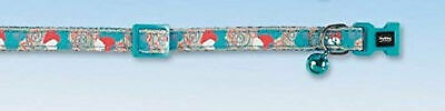 Nobby Heart Cat Collar, Turquoise