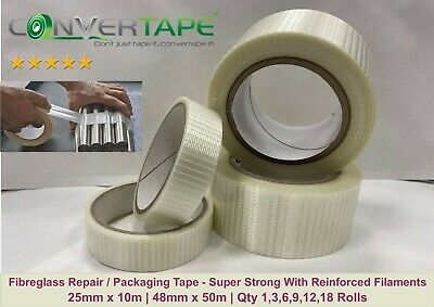 Paradis Cricket Bat Face Edge Repair Tape Clear Elastic Vice Tape Stretchy