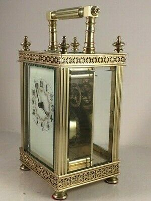 Antique French carriage clock C1885. Complete overhaul & service this month.