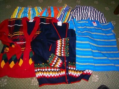 Vintage 90's -Boys clothes 5 to 6 years bundle toddlers shorts top jumpers 116cm