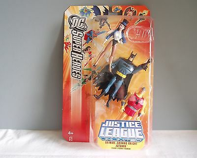 Justice League ACTION DC Super Heroes Batman Shining Knight Zatanna New Card