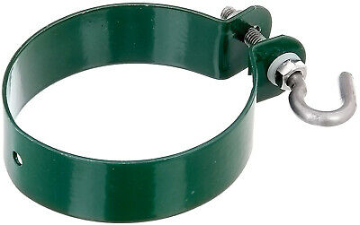 GAH-Alberts 655587 Shackle for Fastening Post Bracers Galvanised Green RAL 6005
