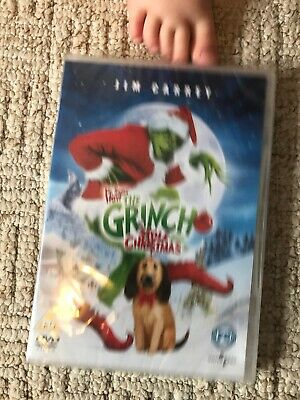 NEW DR Seuss How The Grinch Stole Christmas (DVD, 2004) BNIP Family Films