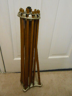 Antique Primitive Wood Dryer  Collapsible Drying Rack Laundry Clothes