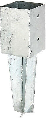 Gah-Alberts 211868 Base Casing for Square Wooden Posts 91 mm Hot-Dip Galvanised