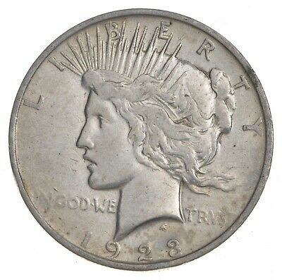 Early - 1923 - Peace Silver Dollar - 90% US Coin *084