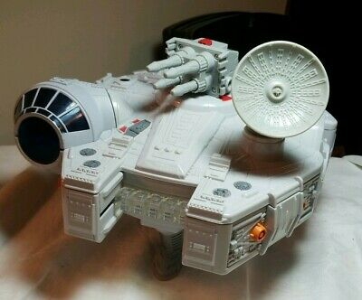 2011 Hasbro Europe Star Wars Millennium Falcon Galactic Spaceship EUC
