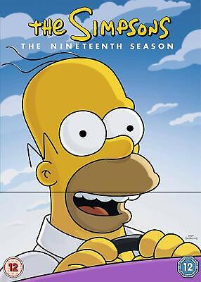 The Simpsons DVD Season 19 Rated Suitable For 12 Years And Over Multicolored New