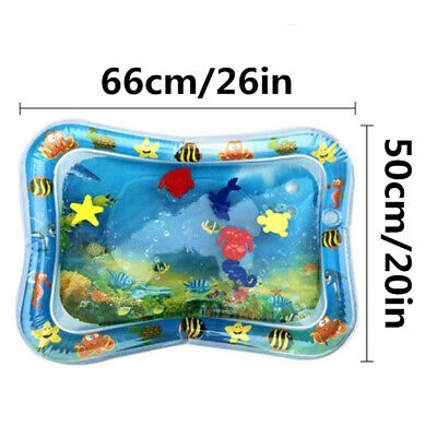 Baby Water Play Mats Premium Tummy Time Inflatable Water Mat for Infants LIUK