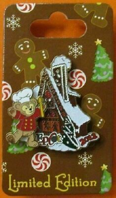 Disney Pin WDW Gingerbread House 2012- EPCOT - Duffy LE2500