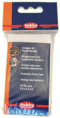 Nobby Pads for Dog Pants, 9 cm, Pack of 10