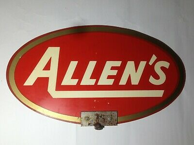 Allen's confectionery company signage VINTAGE Allens Sweets