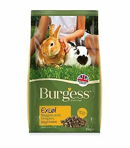 Burgess Excel Adult Rabbit Nuggets with Oregano 2kg - 13871