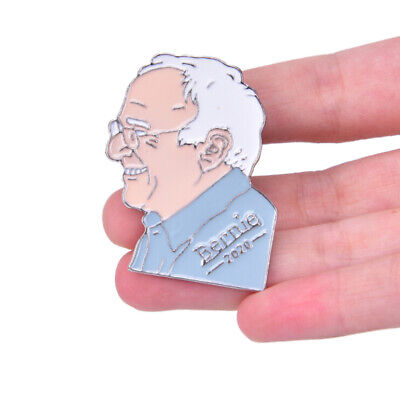 Bernie Sanders for Pressident 2020 USA Vote Pin Badge Medal Campaign BrooAAECUS