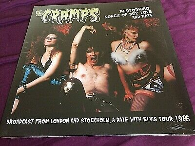 THE CRAMPS Performing Songs of Sex Love and Hate LP - NEW/SEALED!