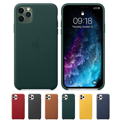 For Apple iPhone 11 11 Pro Leather Original Genuine Case Luxury Cover New