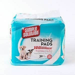 Simple Solution Puppy Training Pads (30Pk) - 39001