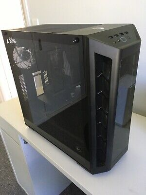 Coolermaster Masterbox MB530P. Mid Tower ATX, Tempered Glass Panels, No RGB Fans