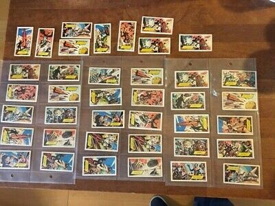 Vintage 1966 Mixed Job Lot Wall's 37 Trading Cards – Dr. Who Adventure –