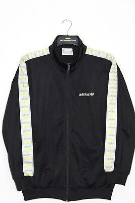 Adidas Firebird 90'S Vintage Tape Logo Tracksuit Top,Jacket,Retro,D6,Size:large