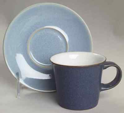 Denby Langley BLUE JETTY Demitasse Cup & Saucer 2443828