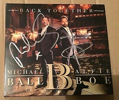 Michael Ball And Alfie Boe Back Together Cd Brand New, Sealed And Signed