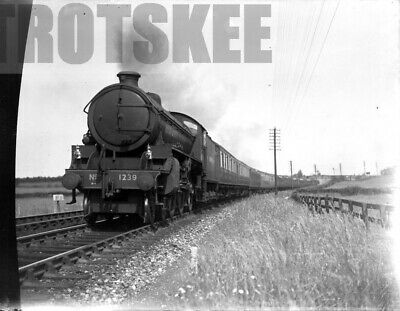 Glass Negative LNER London & North Eastern Railway Steam Loco 1239 1940's