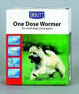 Beaphar Wormer One Dose Small Dogs 3 Tabs - 21913