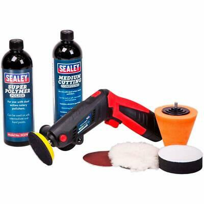 Sealey CP2812VCOMBO Mini Polisher/Sander With Charger, Compound & Polish