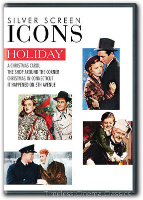 Christmas in Connecticut, The Shop Around the Corner DVD New 2 more Movies