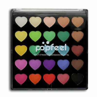 Beauty Pigment Mineral Matte Eyeshadow Eye Makeup Tool Glitter Powder Palette