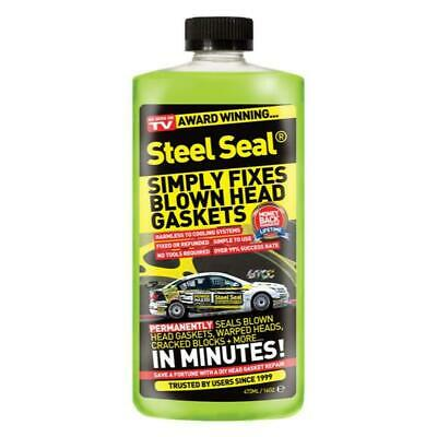 STEEL SEAL Head Gasket Repair - Pour in to Fix Blown Head Gaskets 473ML