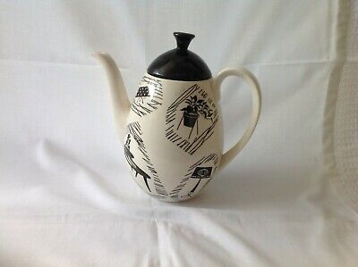 HOMEMAKER METRO COFFEE POT..WITH STAMP..COLLECTABLE.USED.Ridgway by Enid Seeney,