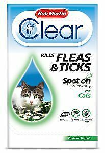 BM Clear Flea Clear Spot On for Cats (3 Pipettes) - 25027