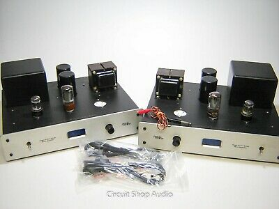 Pair of AES by Cary Monoblock Tube Amplfiers / SE-811 -- KT