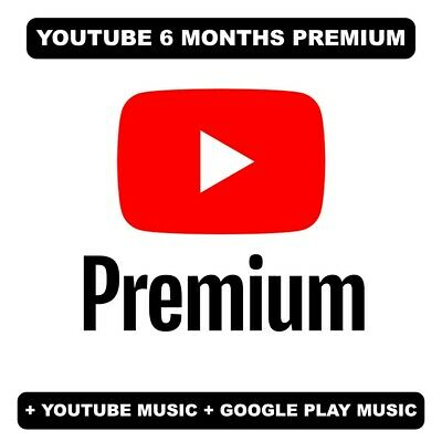 Youtube Premium 6 Months | Read description | INSTANT DELIVERY