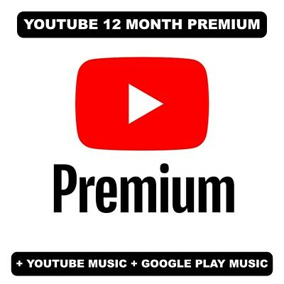 Youtube Premium 12 Months | Read description | INSTANT DELIVERY