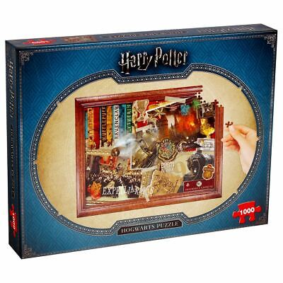 Winning Moves Harry Potter Hogwarts Collectors 1000pc Jigsaw Puzzle