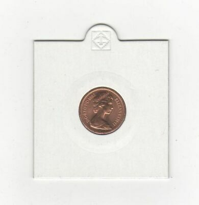 Uncirculated Half Penny Piece 1983 Last date minted 1/2 Pence in Coin Pocket