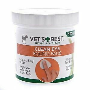 Vets Best Eye Pads for Dogs Display Unit x 100 pads - 234212