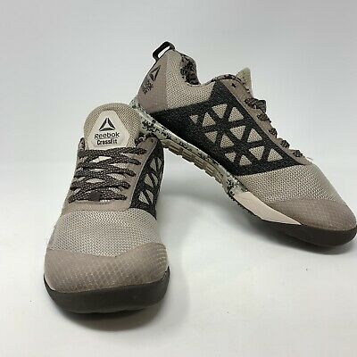 Reebok Crossfit Nano 6 Trainer Athletic Gym Shoes Gray Sneakers Mens Size 11