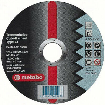 Green Metabo 630187000 Small Disc 50 x 6 mm